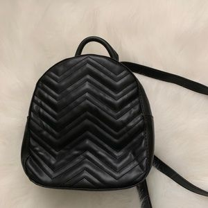 Forever 21 Mini Black Backpack